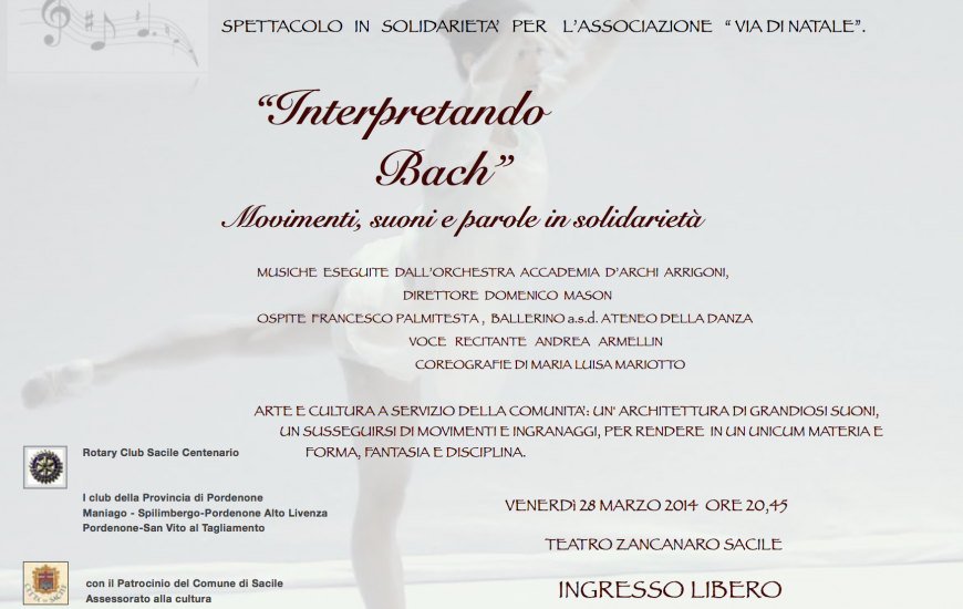 Interpretando Bach